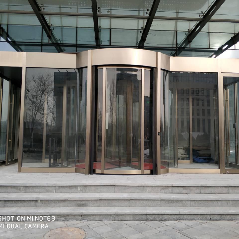 北三环大厦自动旋转门2020年度保养合同实例