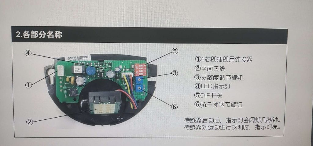 维修多玛DORMA自动门感应器eagleDM:感应不灵敏为什么里低外高
